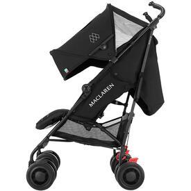 Carro de bebe maclaren techno xt black black for Silla de bebe maclaren