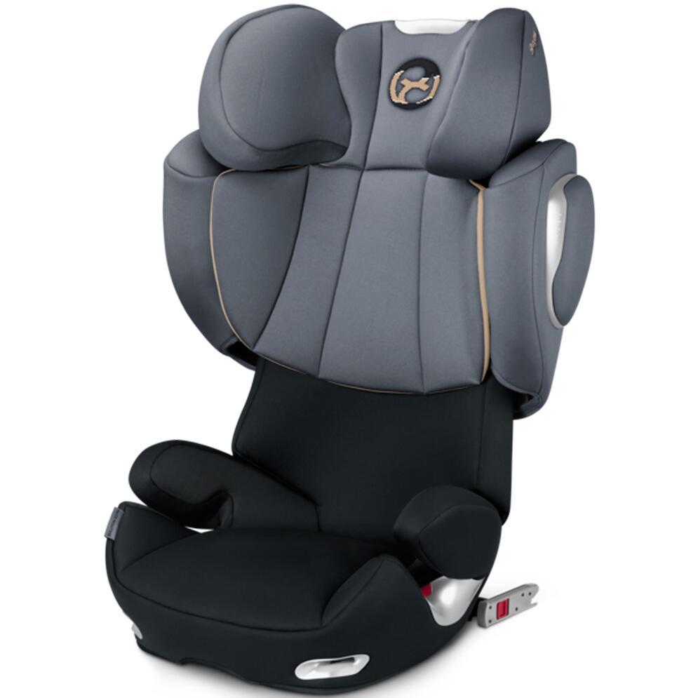 cadeirinha auto cybex solution q3 fix graphite black. Black Bedroom Furniture Sets. Home Design Ideas